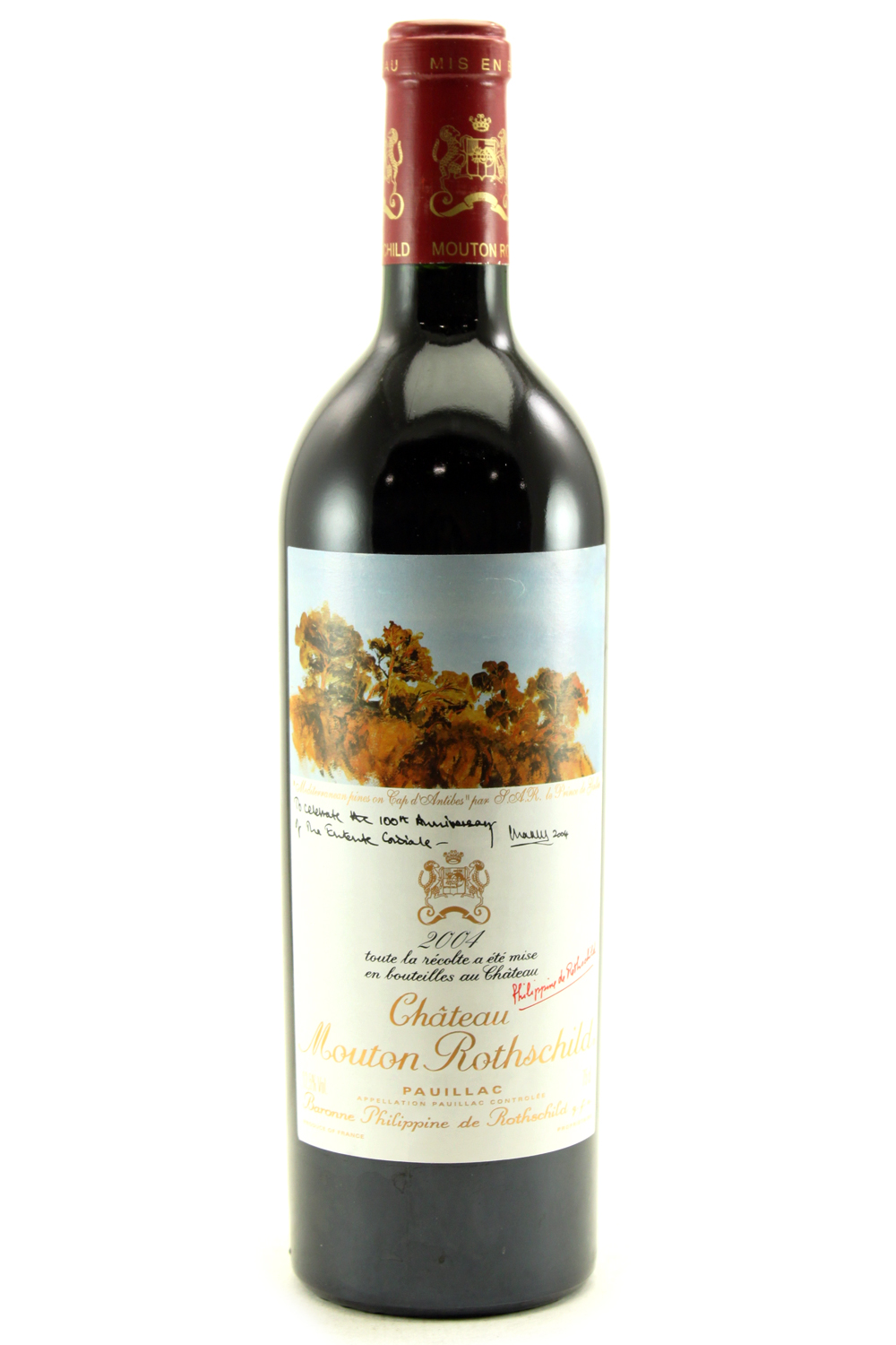 2004 Mouton Rothschild Bordeaux Red 750 ml