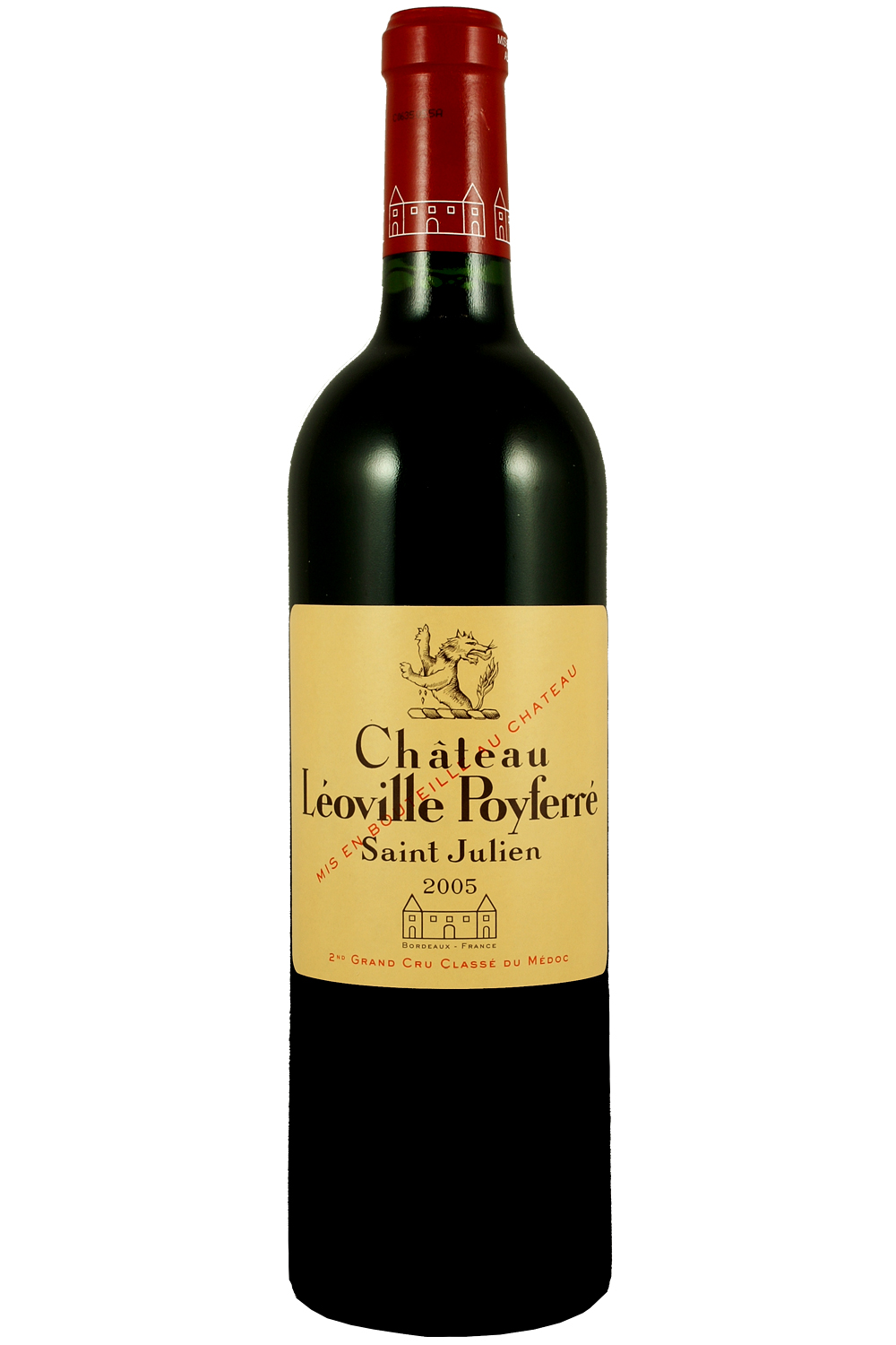 2005 Leoville Poyferre Bordeaux Red 750 ml