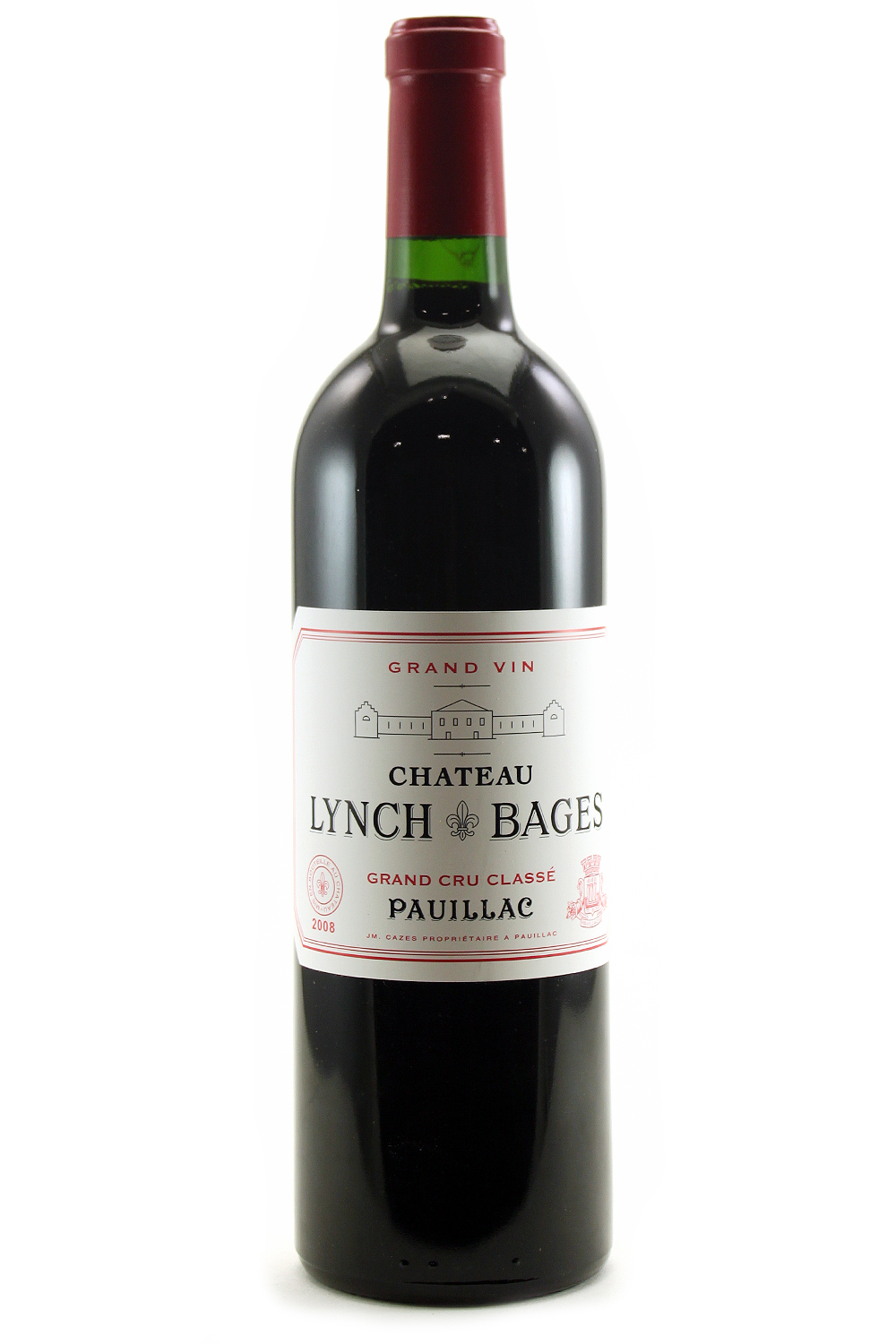 2008 Lynch Bages Bordeaux Red 750 ml