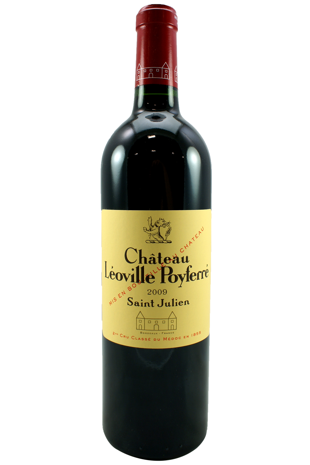 2009 Leoville Poyferre Bordeaux Red 750 ml
