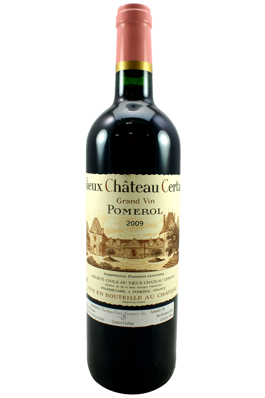 2009 Vieux Chateau Certan Bordeaux Red 750 ml