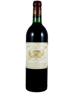 1981 margaux Bordeaux Red