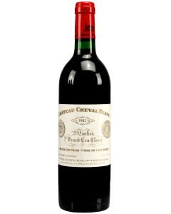 1982 cheval blanc Bordeaux Red