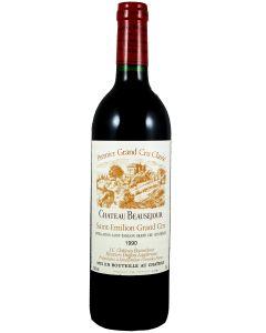 1990 beausejour duffau Bordeaux Red