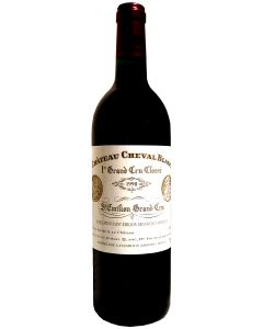 1990 cheval blanc Bordeaux Red