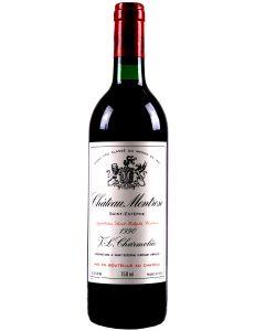 1990 montrose Bordeaux Red