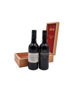 1994 fladgate partnership half-bottle 2-pack (1 taylor fladgate, 1 fonseca) Port