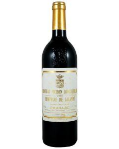 1995 pichon lalande Bordeaux Red
