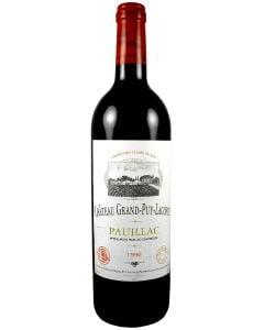 1996 grand puy lacoste Bordeaux Red