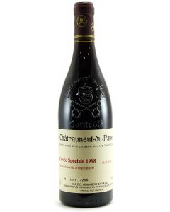 1998 henri bonneau chateauneuf du pape speciale Chateauneuf du Pape