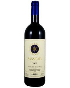 2000 sassicaia Super Tuscans/IGT