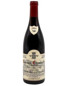 2002 claude dugat charmes chambertin Burgundy Red