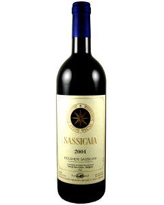 2004 sassicaia Super Tuscans/IGT