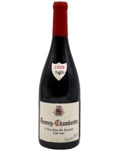 2008 dom. fourrier gevrey chambertin clos st. jacques vv Burgundy Red