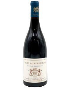 2009 vicomte liger-belair nuit saint georges 1er cru aux cras Burgundy Red