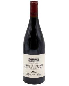 2012 dujac vosne romanee les malconsorts Burgundy Red