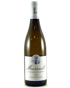 2015 domaine vincent latour meursault les grands charrons Burgundy White