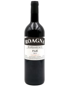 2015 roagna barbaresco paje vecchie viti Barbaresco