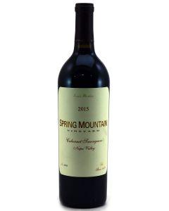 2015 Spring Mountain Cabernet Sauvignon Napa Valley