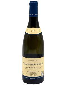2017 Domaine Paul Pillot Chassagne Montrachet 1er Cru Les Champs Gain