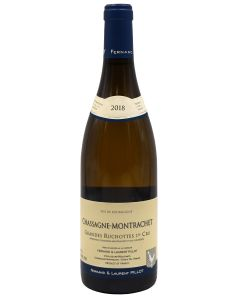2018 domaine fernand et laurent pillot chassagne montrachet 1er cru grandes ruchottes Burgundy White