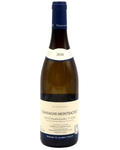 2018 domaine fernand et laurent pillot chassagne montrachet 1er cru morgeot Burgundy White