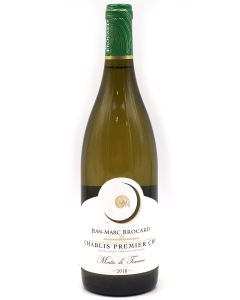 2018 jean-marc brocard chablis 1er cru montee de tonerre Burgundy White